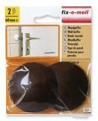 FIX-O-MOLL fali ajtóütköző (2db, barna)