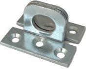Hajlított acél lakatszem 55x48 mm