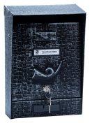 SILMEC 10201.09 utcai postaláda (rusztikus fekete)