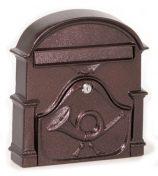 Boston univerzális aluminium postaláda (bronz)