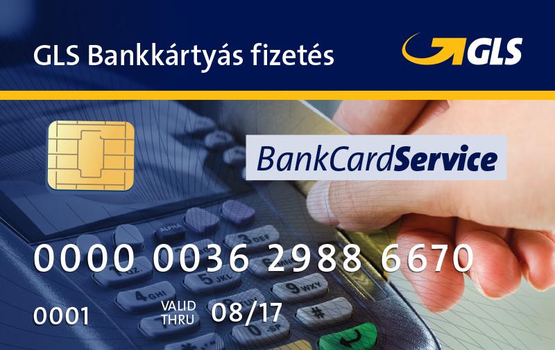 Bankkártyás fizetés a GLS furnál