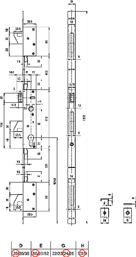 Multivektor 25/85/24/8/1570